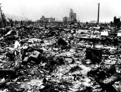 Hiroshima atomic bomb damage