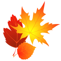 transparent_fall_leaves_clipart